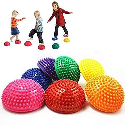 Amazon.com: kbxstart Balance Massage Half Ball, 1Pcs 16cm ...