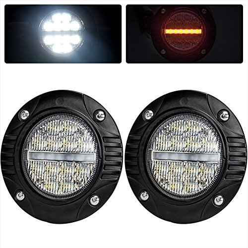 Led Fog Light Round