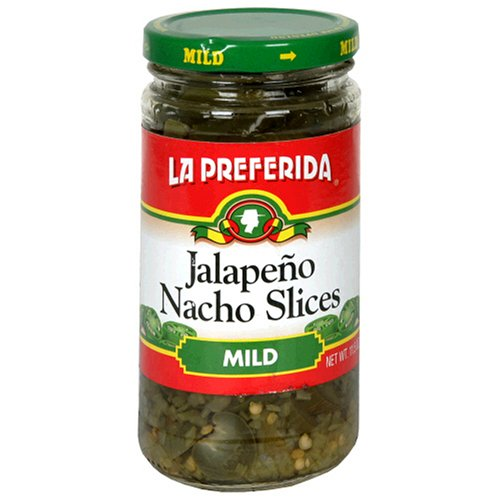 La Preferida Jalapeno Nacho Slices, Mild, 11.5-Ounce Cans (Pack of 12)