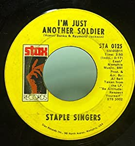 Staple Singers I'll Take You There / I'm Just Another Soldier 45 rpm single
