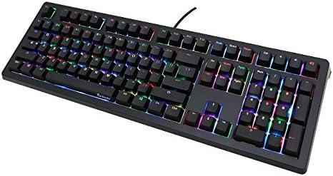 Ducky Channel 5 Brillar Teclado mecánico Cereza MX Interruptor RGB Iluminación - Brown