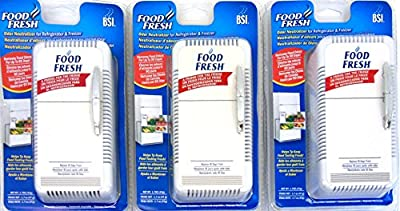 Home Air Care Food Fresh Odor Neutralizer for Refrigerator and Freezer (Pack of 3)