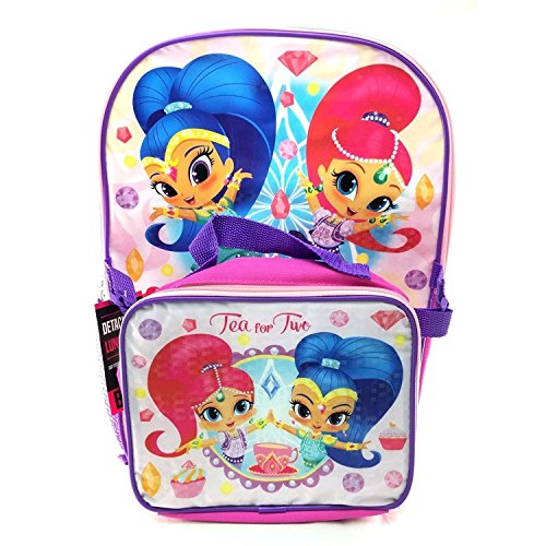 Shimmer & Shine Backpack with Lunch Kit, 16