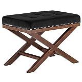 Cheap Modway EEI-2571-BLK Facet Wood Bench, Black
