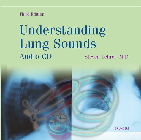 Understanding Lung Sounds (Booklet with Audio CD) by Brand: Saunders