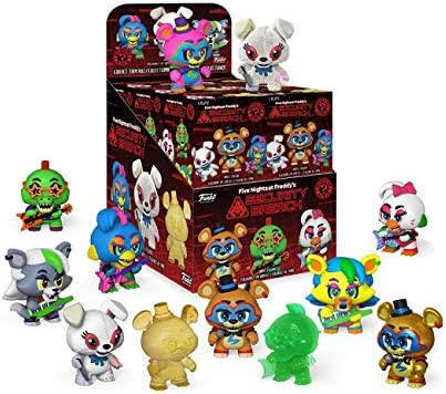 Details about  /Funko Mystery Mini FNAF Five Nights at Freddy/'s Security Breach ROXANNE WOLF LE