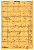 YellowMaps Ulen MN topo map, 1:62500 Scale, 15 X 15 Minute, Historical, 1918, 27.23 x 21.53 in