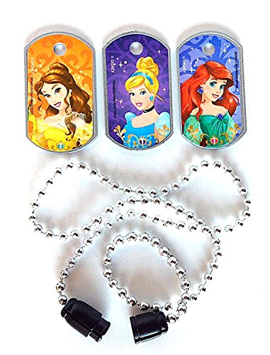 Disney Princess Dog Tag Necklace