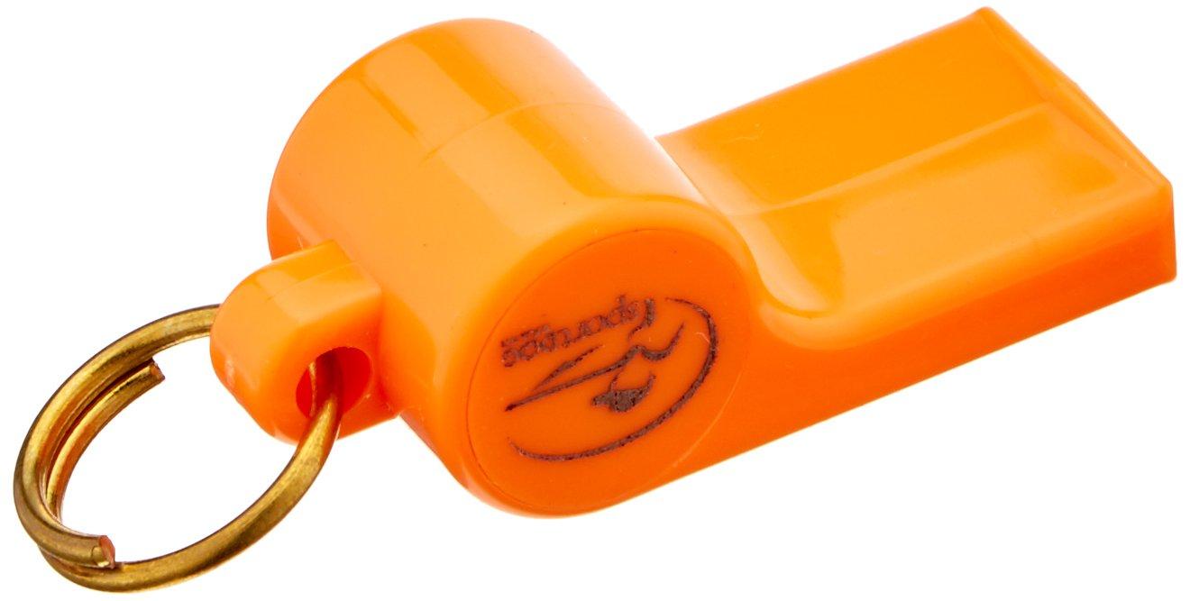 Mendota Roy Gonia Training Whistle with Black Spot and Pea Orange