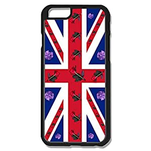 IPhone 6 Cases Flower UK Flag Design Hard Back Cover Cases Desgined By RRG2G by runtopwell