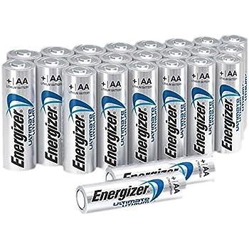 Amazon.com: Energizer Ultimate Lithium AA Size Batteries