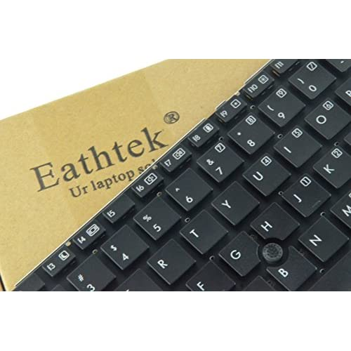 Eathtek Replacement Keyboard with Pointing Stick without Frame for