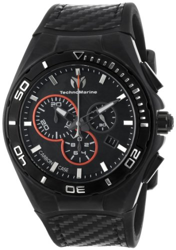 TechnoMarine-Mens-113001-Cruise-Steel-Evolution-Carbon-Watch