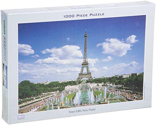 Tomax Eiffel Tower, Paris, France 1000 Piece Jigsaw Puzzle ()