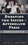 The Antebellum Era, David A. Copeland, 0313320799