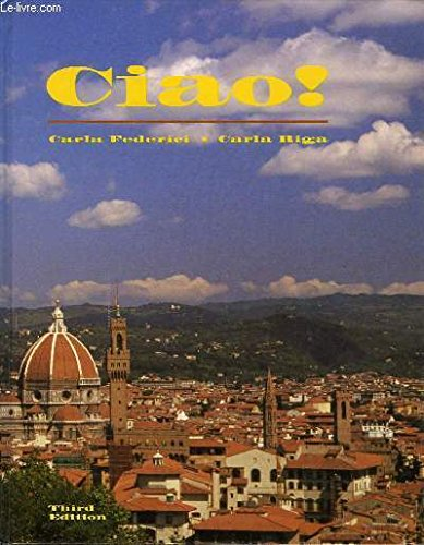Ciao: Introductory Italian