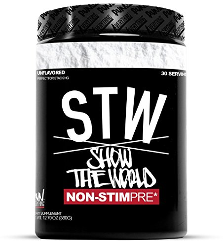 Muscle Volumizer Cell (Run Everything Labs | STW | Show The World | Non-STIM PRE Workout (UNFLAVORED))
