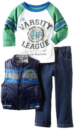 Little Rebels Little Boys' Three-Piece Division One Squad Vest Set