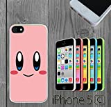 kirby phone case 5c - Cartoon Girl Cute Kirby LOL Custom made Case/Cover/Skin FOR iPhone 5C Color -White- Rubber Case (Ship From CA)