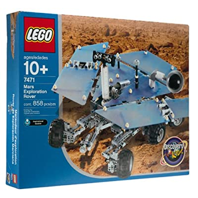 Lego Mars Exploration Rover (7471): Toys & Games
