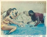 Dr. No Original British Lobby Card James Bond Sean Connery Ursula Andress bikini