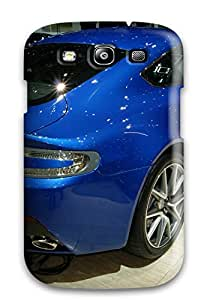 Rugged Skin Case Cover For Galaxy S3- Eco-friendly Packaging(aston Martin Zagato 38)