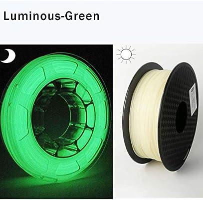 Filamento Para Impresora 3D Filamento De La Impresora 3D Glow In ...