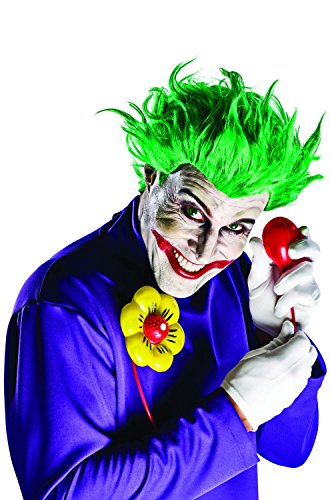 Arkham Joker Costume (Rubie's Costume Co. DC Comics Justice League Arkham Asylum Joker Costume Accessory Kit, Multicolor, One)