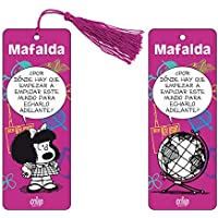 Marcapaginas 3D Mafalda (color violeta)