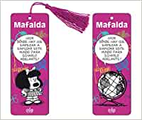 Marcapaginas 3D Mafalda (color violeta)