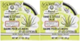 J. R. Watkins Hand & Cuticle Salve - Aloe & Green Tea - 2.1 oz - 2 pk