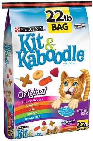 PURINA KIT KABOODLE CAT Food Original Flavor 22 LB Bag
