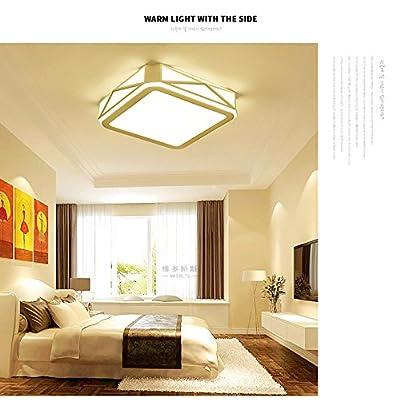 Angeelee Lumiere Led Lampe De Plafond Chambre A Coucher Moderne