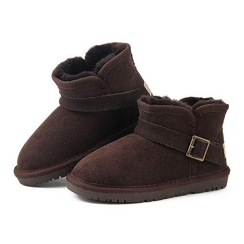 f21ac369a1224 ムートンブーツ ショート 冬用 スノーブーツ キッズ ジュニア ベルト 男の子 女の子 靴 ふわふわ ファー 子供