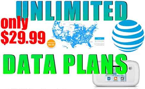 AT&T Grandfathered Unlimited Data plan/iPad 4G/LTE (29.99/mo) WORKS WITH HOTSPOT