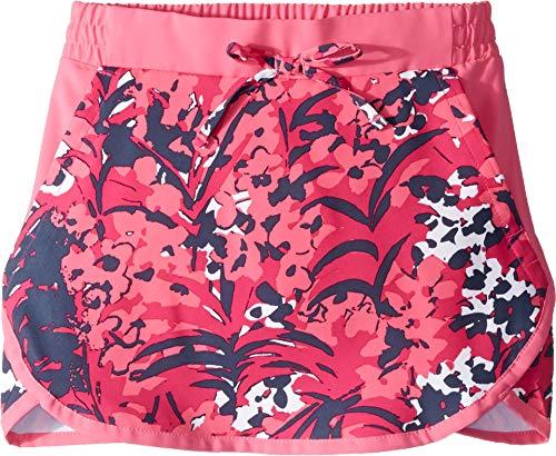 Columbia Kids Girl's Sandy Shores¿ Skort (Little Kids/Big Kids) Haute Pink Tropical Floral Print/Wild Geranium Large