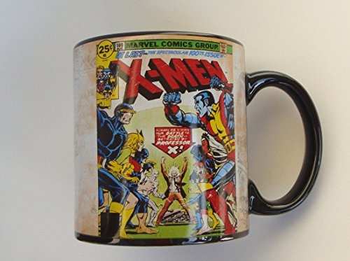 2012 Ceramic Mug - X MEN! - The Spectacular 100th Issue Ceramic Coffee Mug Marvel Classic Comics Retro Strip Style Art Look (20 oz. 591 ml) 2012