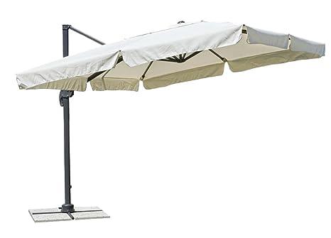 Ombrelloni Da Giardino A Braccio Laterale.Ombrellone A Braccio Laterale Ripiegabile Mis 300x400cm Art350