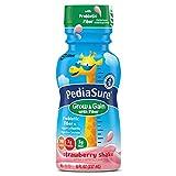 PediaSure Grow & Gain with Fiber Nutrition Shake For Kids, Strawberry, 8 fl oz (Pack of 12)