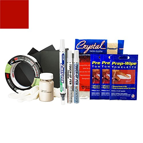 ExpressPaint 2WayPen - Automotive Touch-up Paint for Cadillac ATS - Red Obsession Tricoat G7E/WA132X - All Inclusive Package