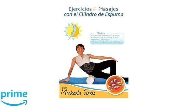 Amazon.com: Ejercicios y Masajes con el Cilindro de Espuma ...