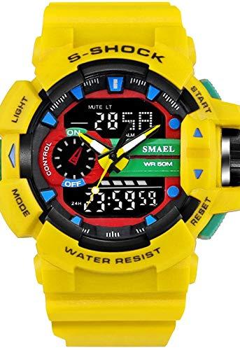 JaponesRelojes Muñeca Digital De Reloj Sobremesa Y Digitales CBxoWrde
