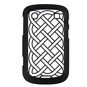 Generic Unique For Blackberry 9900 Abs Printed Celtic Shells For Girl