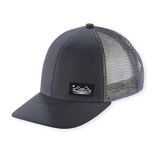 Pistil Men's Dean Trucker Hat, Grey
