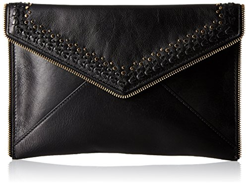 Rebecca Minkoff Leo with Studs Envelope Clutch, Black, One Size by Rebecca Minkoff