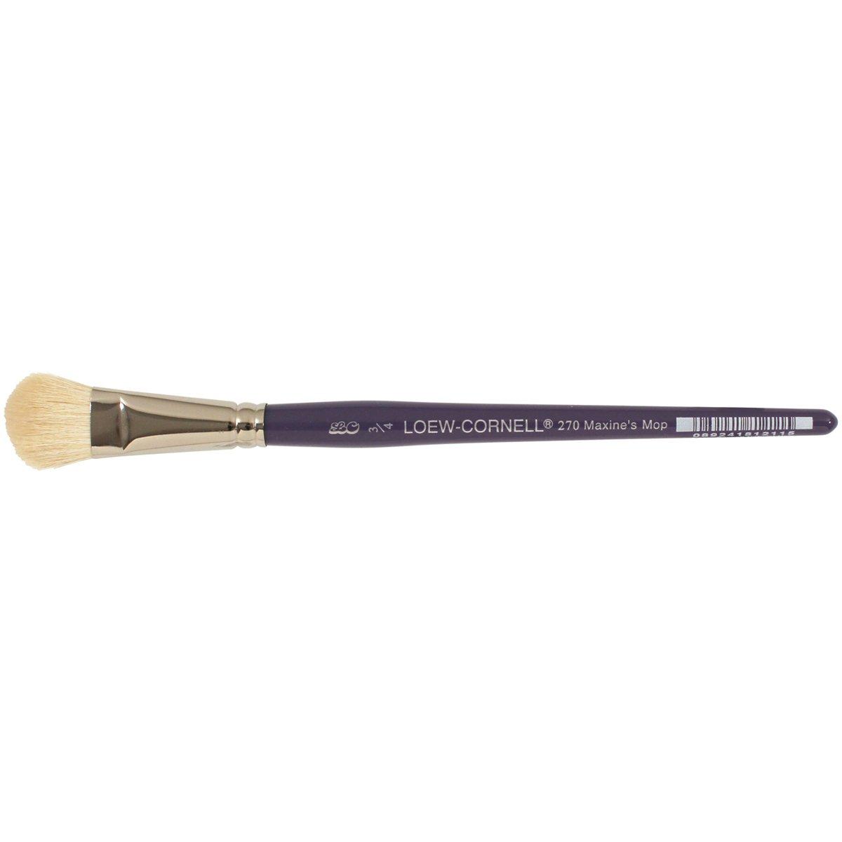 Loew-Cornell 3/4-Inch 270 Maxine Thomas Mop Artist Brush, Goat Hair