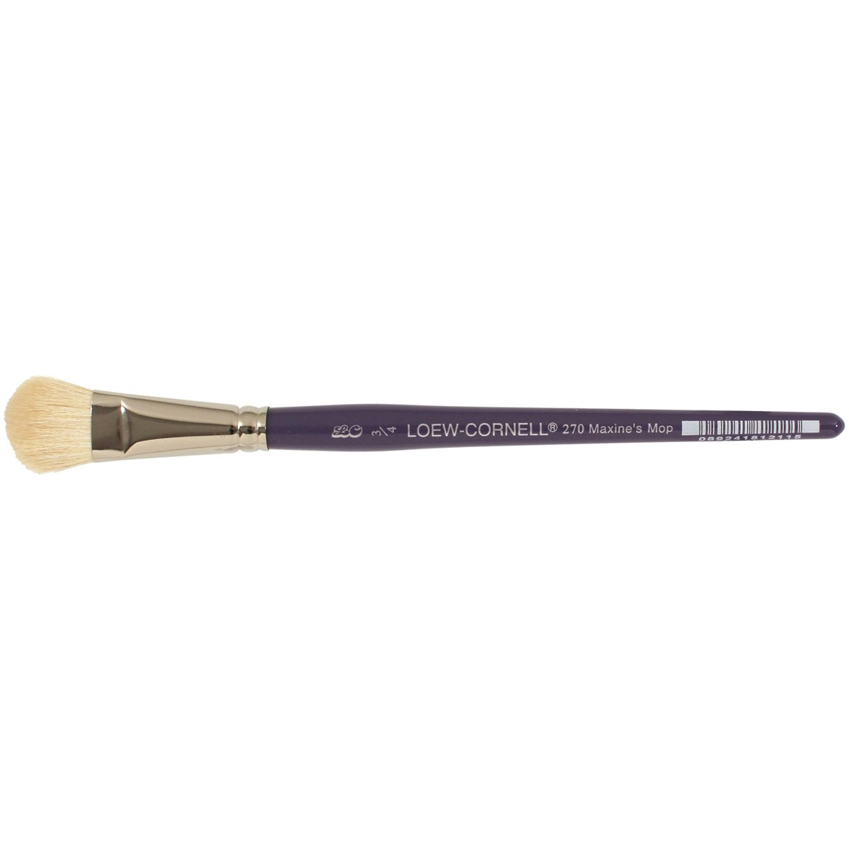 Loew-Cornell 3/4-Inch 270 Maxine Thomas Mop Artist Brush, Goat Hair by Loew-Cornell