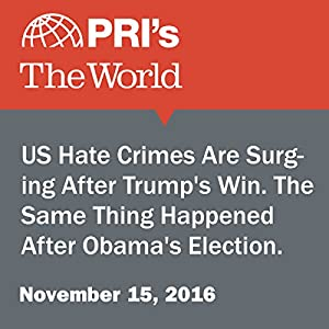 US Hate Crimes Are Surging After Trump's Win. The Same Thing Happened After Obama's Election.