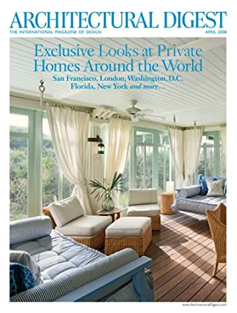 Architectural Digest: Amazon com: Magazines