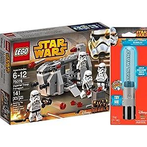 Bundle 3 Items LEGO Star Wars Imperial Troop Transport 75078 with/ Rare Luke Skywalker Lightsaber & Star Wars Stickers - 51DAMtG3CtL - Bundle 3 Items LEGO Star Wars Imperial Troop Transport 75078 with/ Rare Luke Skywalker Lightsaber & Star Wars Stickers